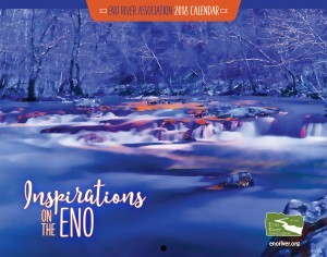 Eno River 2018 Calendar cover