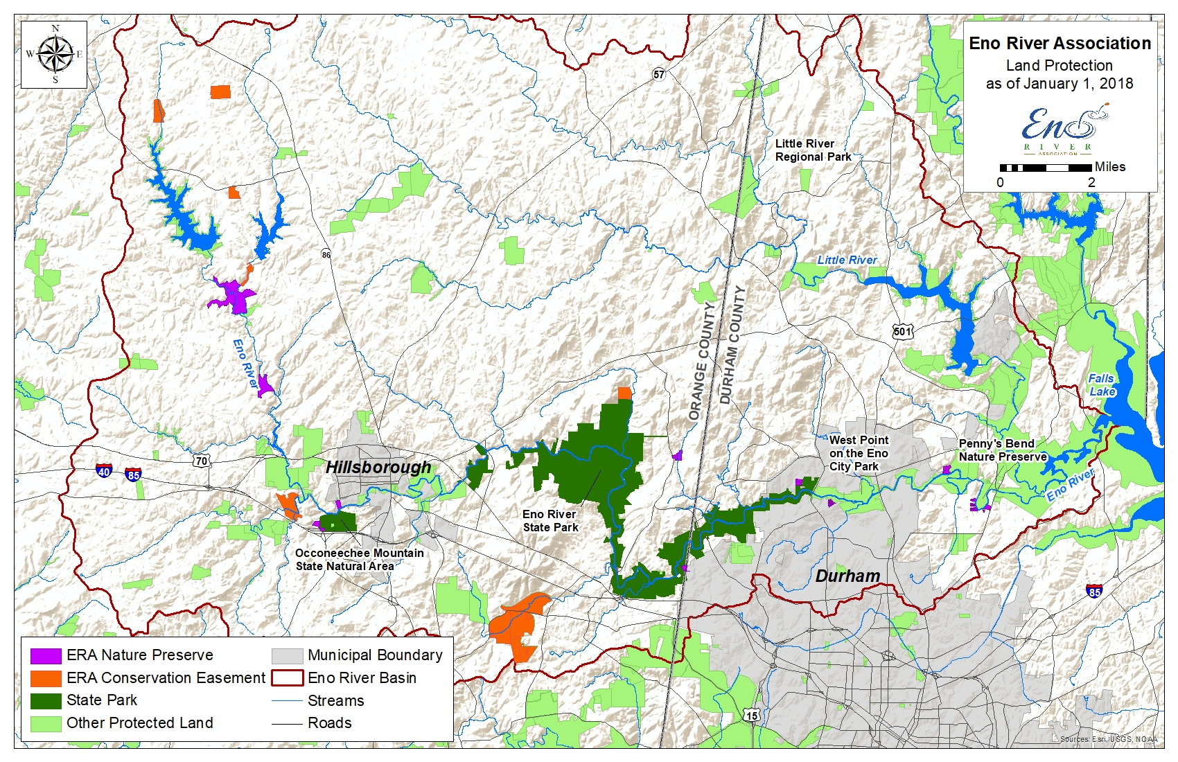 maps « Eno River Association – Education, Advocacy & Conservation